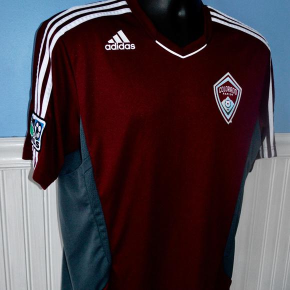 50e8ef59b adidas Shirts | Climacool Colorado Rapids Mls Soccer Shirt | Poshmark